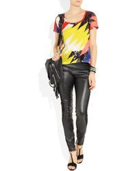 Sass & Bide | Multicolor Silence Is Golden Embellished Cotton T-shirt | Lyst