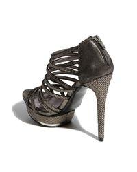 Pelle Moda   Silver Augusta Sandal   Lyst