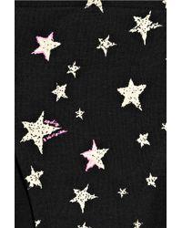 Zadig & Voltaire   Black Star-print Triangle Bikini   Lyst