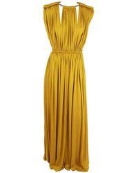Lanvin Yellow Dress
