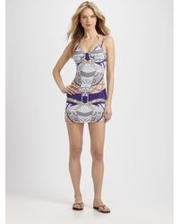 Mara Hoffman | Purple Stretch Modal Dress | Lyst