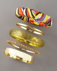 MILLY - Multicolor Five-piece Bangle Set - Lyst