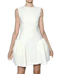 ROKSANDA | White Textured Cotton Dress | Lyst
