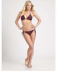 Shoshanna Multicolor Anchors Away Bikini Bottom