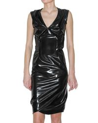 Vivienne Westwood Anglomania | Black Latex Dress | Lyst