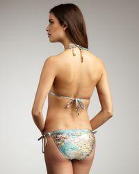 Zimmermann | Multicolor Amity Triangle String Bikini | Lyst