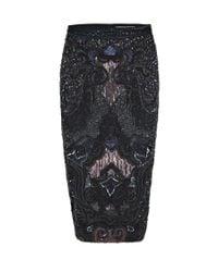 AllSaints | Blue Orna Skirt | Lyst