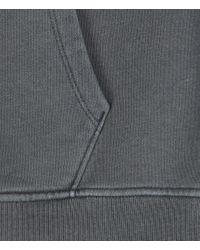 AllSaints - Blue Devoran Hoodie for Men - Lyst