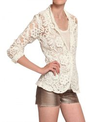 American Retro | White Lace Jacket | Lyst