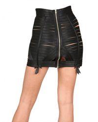 Bordelle | Black Waspie Skirt | Lyst