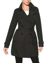 Burberry | Black Buckingham Cotton Gabardine Trench Coat | Lyst