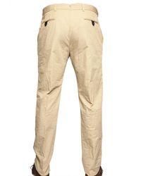 Tonello - Natural Lightweight Cotton Canvas Suit for Men - Lyst
