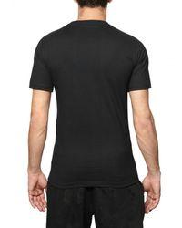 Dead Meat - Black Skull Printed Jersey T-shirt for Men - Lyst