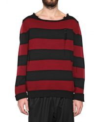 Dead Meat - Red Striped Sweater for Men - Lyst