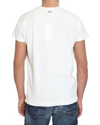 Dolce & Gabbana | White Kylie Minogue Stretch Jersey T-shirt for Men | Lyst