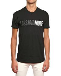 Dior Homme | Black Less and More Jersey T-shirt for Men | Lyst