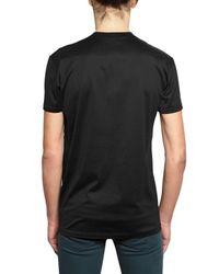 Dior Homme | Black Rose Print Jersey T-shirt for Men | Lyst