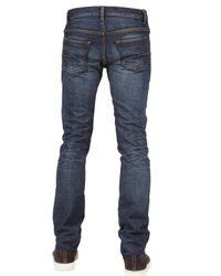 Dior Homme - Blue 19cm Carbon Copy Denim Jeans for Men - Lyst