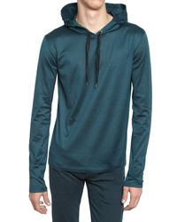 Dior Homme | Blue Bee Embroidered Jersey Hoody Sweatshirt for Men | Lyst