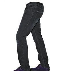 Dolce & Gabbana   Black 19cm Washed Denim Gold Fit Jeans for Men   Lyst