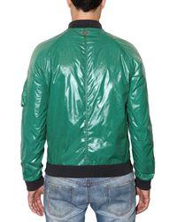 Dolce & Gabbana | Green Shiny Nylon Sport Jacket for Men | Lyst