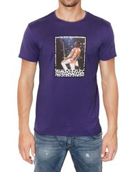 Dolce & Gabbana | Purple Freddy Mercury Printed Jersey T-shirt for Men | Lyst