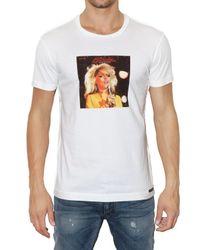 Dolce & Gabbana - White Blondie Printed Jersey T-shirt for Men - Lyst