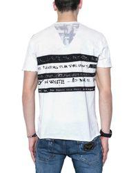 Dolce & Gabbana | Black Printed Jersey T-shirt for Men | Lyst