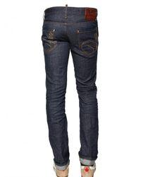 DSquared² - Blue Straight Leg Jean for Men - Lyst
