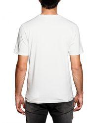 John Galliano - White Logo Print Cotton T-shirt for Men - Lyst