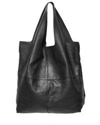Givenchy - Black George V Medium Smooth Shiny Nappa Tote - Lyst