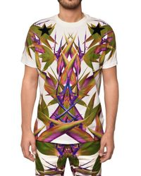 Givenchy | White Birds Of Paradise Tee for Men | Lyst