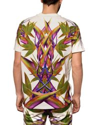 Givenchy - White Birds Of Paradise Tee for Men - Lyst