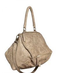 Givenchy | Natural Pandora Large Matt Washed Leather Should | Lyst