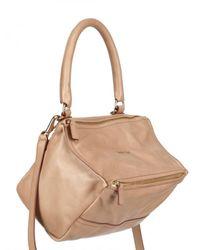 Givenchy | Natural Shiny Softy Small Pandora Shoulder Bag | Lyst
