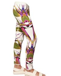 Givenchy | White Birds Of Paradise Jersey Leggings/ Trousers for Men | Lyst