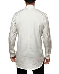 Givenchy | White Cotton Poplin Slim Fit Long Shirt for Men | Lyst