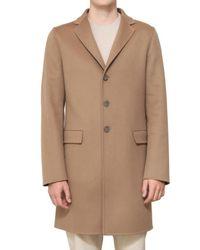 Jil Sander | Natural Wool Cashmere Double Coat for Men | Lyst