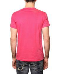 John Richmond | Pink Scorpion Print Jersey T-shirt for Men | Lyst