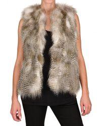 JOSEPH | Natural Coyote Fur Coat | Lyst