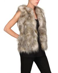 JOSEPH | Natural Coyote Fur Coat | Lyst