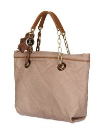 Lanvin | Natural Quilted Mini Amalia Tote | Lyst