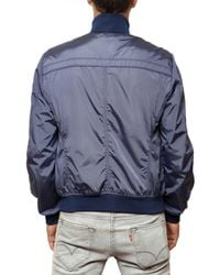 Peuterey - Blue Fraud Nylon Bomber Sport Jacket for Men - Lyst