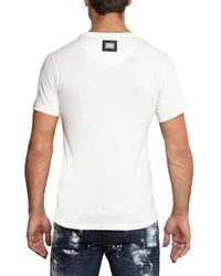 Philipp Plein | White Terrorist Bear Jersey T-shirt for Men | Lyst