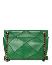Roger Vivier | Green New Prismic Leather Small Shoulder Bag | Lyst