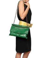 Roger Vivier - Green New Prismic Leather Small Shoulder Bag - Lyst
