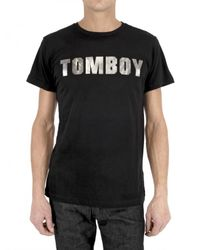Tom Rebl | Black Tomboy Jersey T-shirt for Men | Lyst