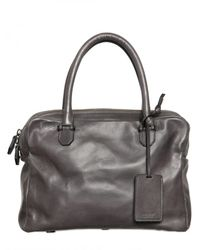 A Brand Apart | Gray Buffalo Leather Bag for Men | Lyst