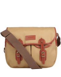 Barbour | Natural Beige Canvas Terras Satchel for Men | Lyst