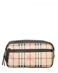 Burberry | Natural Coalburn Classic Check Toiletry Bags for Men | Lyst